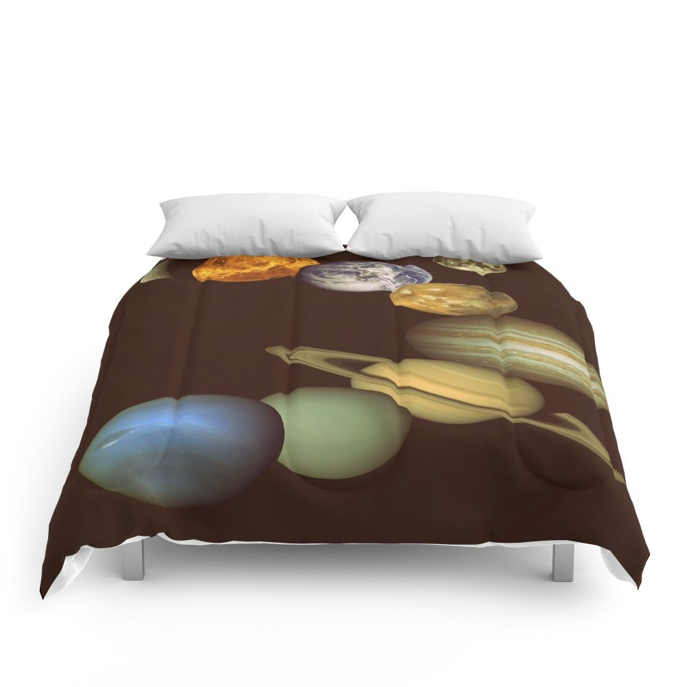 Society6 The Solar System Comforters Full: 79'' x 79''