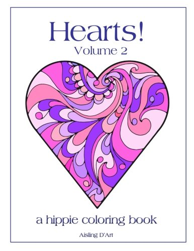 Hearts 2 Hippie Coloring Book product image