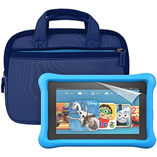 Fire Kids Edition Essentials Bundle including Fire Kids Edition, 7 Display, Wi-Fi, 16 GB, Blue Kid-Proof Case Coupons