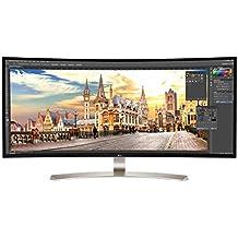 "LG 38UC99 38"" Class 21:9 UltraWide WQHD+ (3840x1600) IPS Curved LED Monitor ,USB C & 3.0 1ms, Motion Blur Reduction International Version"
