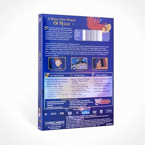 BestForYou Aladdin Movie DVD 2-Disc Special Platinum English Edition by BestForYou (Image #2)