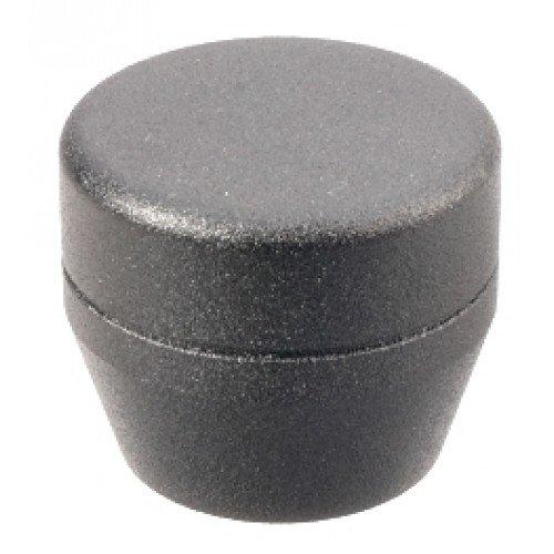 ASP Grip Cap, Textured Black Baton Cap (F Series) Asp Baton