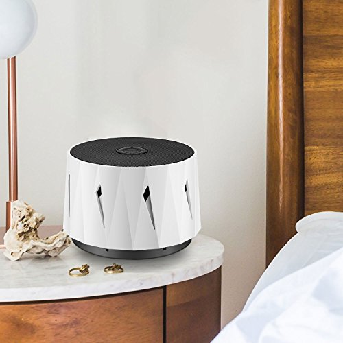 WITTI DOZZI | White Noise Noise Machine for Baby, Sleeping, Office Privacy. Lightweight Portable for Travel, Hotel Sleep. Natural White Noises Maker, Set Tone & Fan Volume by WITTI (Image #3)