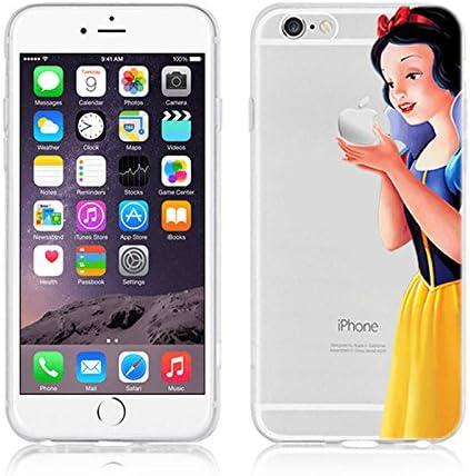 Coque souple en polyuréthane thermoplastique pour Apple iPhone 5/5s et 5c, motif princesse Disney, blanche-neige, Apple iPhone 5/5s