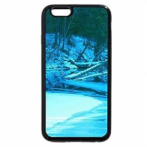 iPhone 6S Plus Case, iPhone 6 Plus Case, Winter Stream Blues
