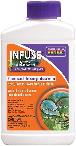 Bonide (BND147) - Infuse Systemic Disease Control, Fungicide Concentrate (8 oz.),Brown/A