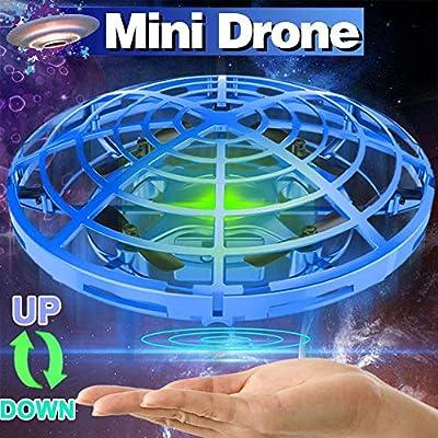 ONMET UFO Pelota voladora Juguetes, Mini cuádruple Drone Auto ...