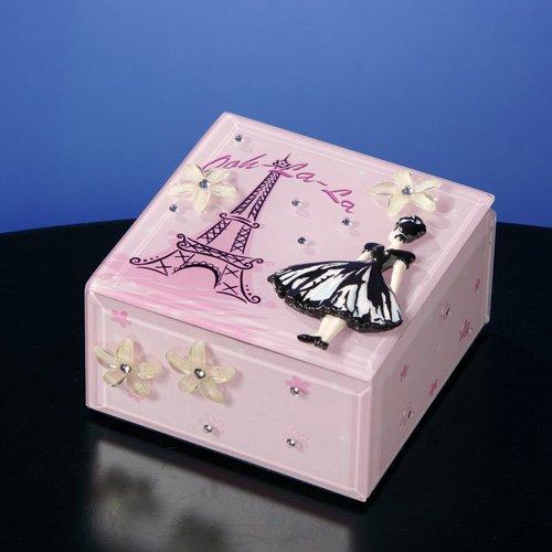 Ooh-La-La Music Jewelry Box by The San Francisco Music Box Company