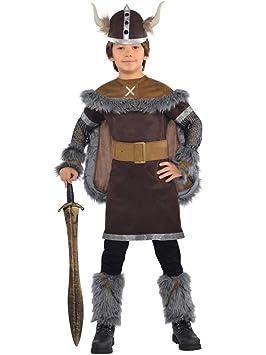 Adult Viking Hat Helmet Battle Warrior Medieval Fancy Dress Accessory Book Week