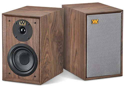 Wharfedale - Denton (Walnut) (Wharfedale Bookshelf Speakers)