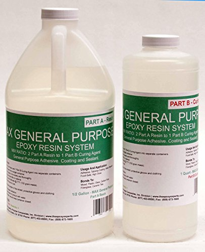 MAX GPE -GENERAL PURPOSE GRADE Epoxy Resin System - 3/4 Gallon Kit - RV Repair Panel Injectable Adhesive, Wood Sealing And Waterproofing Resin System, Low Viscosity, Long Working Time by The Epoxy Experts (Image #4)