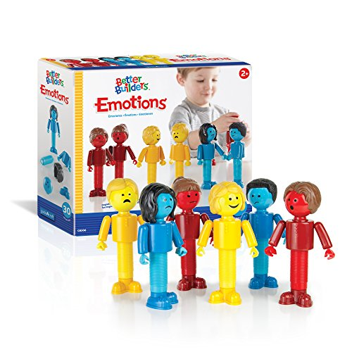 Guidecraft Better Builders Emotions Magnetic Figures, Social Emotional Learning Toy