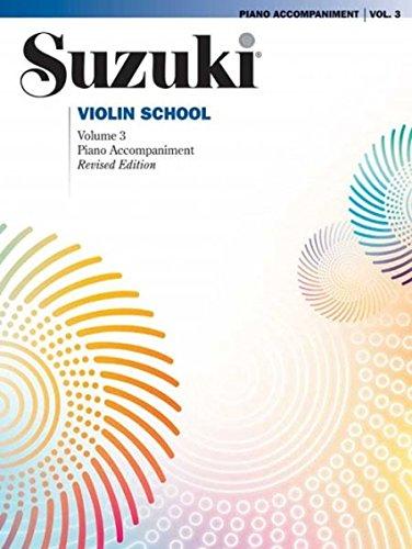Suzuki Violin School, Vol 3: Piano Acc. [Suzuki, Shinichi] (Tapa Blanda)