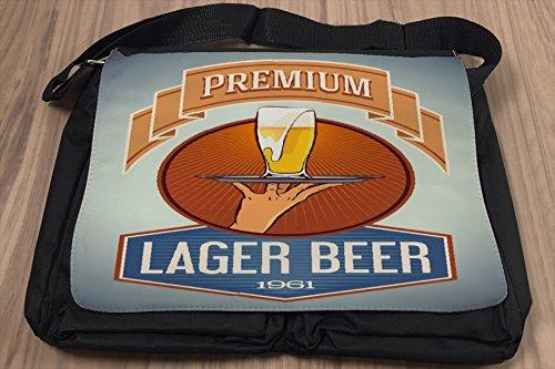 Borsa Tracolla Birra Retro Stock birra Premium Stampato Divertimento Camera