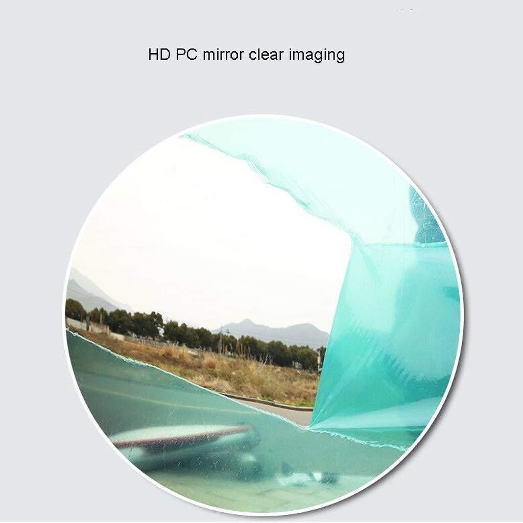 100 cm 60 cm ZhanMa 45 cm Espejo de seguridad redondo de gran angular con accesorios de montaje y soporte de montaje ajustable para pared 80 cm