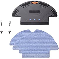 Metapo Mop Add-on Attachment for Roomba 500 510 530 550 560 570 585 595 600 610 614 620 630 650 660 series Robot Vacuum with Water Tank Reservoir and 2 Mopping Cloths for Dry & Wet Floor Mopping