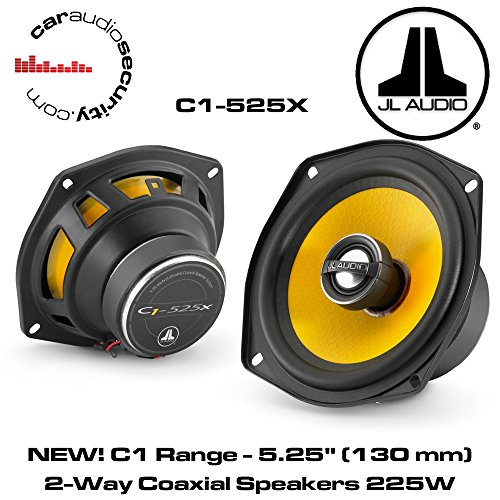 JL Audio C1-525 x 5-1/4″ 2-Way Coaxial Car Audio Speakers