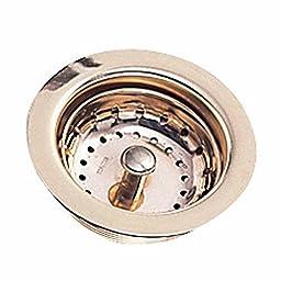 Sink Strainers Bright Brass Kitchen Sink Strainer