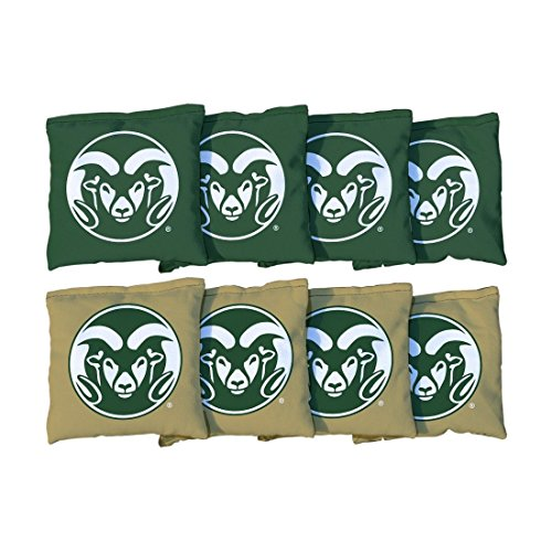 Victory Tailgate 8 Colorado State Rams Regulation All Weather Cornhole Bags