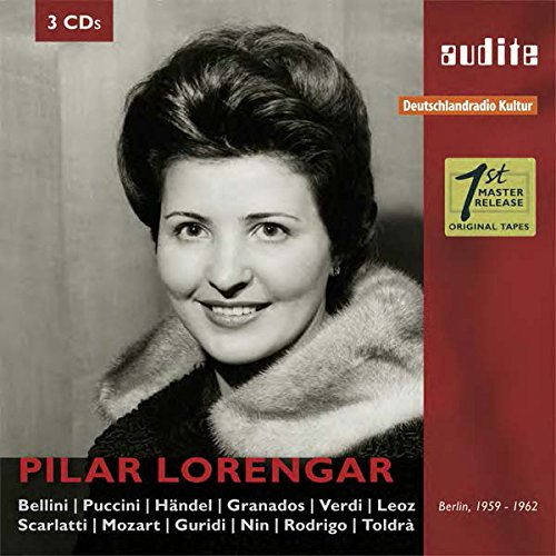 Pilar Lorengar: A Portrait in Live and Studio Recordings from 1959-1962 - Live Portrait