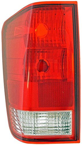 Nissan Titan Tail Lamp - 2004-2012 Nissan Titan (04-10 LE & SE MODEL, 08-12 PRO-4X) Taillight Taillamp Without Utility Bed Rear Brake Tail Lamp Light Left Driver Side (2004 04 2005 05 2006 06 2007 07 2008 08 2009 09 2010 10 2011 11 2012 12)