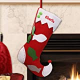 GiftsForYouNow Fish Personalized Christmas Stocking, 19''