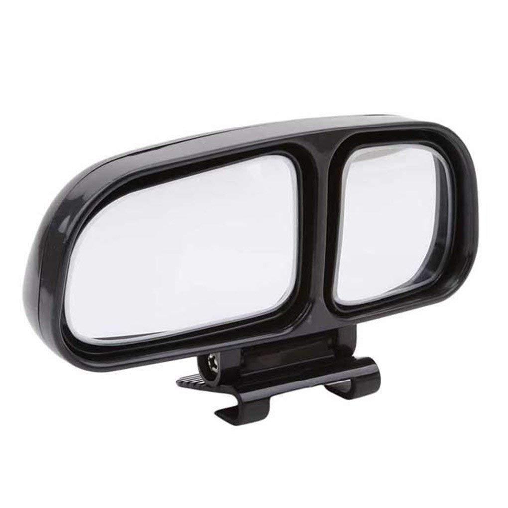 Ogquaton Premium Quality Auto Blinder Winkel Spiegel Universal Weitwinkel Auto R/ückspiegel Hilfsspiegel f/ür SUV LKW schwarz auf der linken Seite