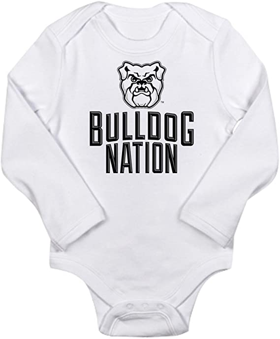 CafePress Butler Bulldogs Volleyball Body Suit Cute Long Sleeve Infant Bodysuit Baby Romper