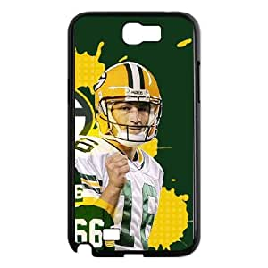 Green Bay Packers Samsung Galaxy N2 7100 Cell Phone Case Black DIY gift zhm004_8675507