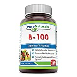Pure Naturals B-100 Complex Tablets, 120 Count