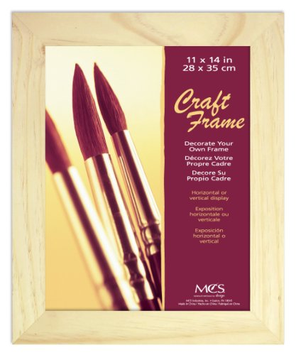MCS 11x14 Inch Unfinished Pine Craft Frame (58102)