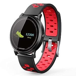 OOLIFENG Pulsera Inteligente Fitness Tracker Reloj Actividad Tracker ...