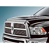 10-16 Dodge RAM Truck 2500 3500 HD Front Air Deflector Triple Chrome Plated Hood Guard Bug Deflector