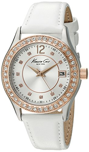 Kenneth Cole New York Women's 10020850 Classic Analog Display Japanese Quartz White Watch