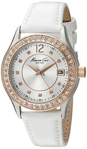 Kenneth Cole New York Women's 10020850 Classic Analog Display Japanese Quartz White Watch