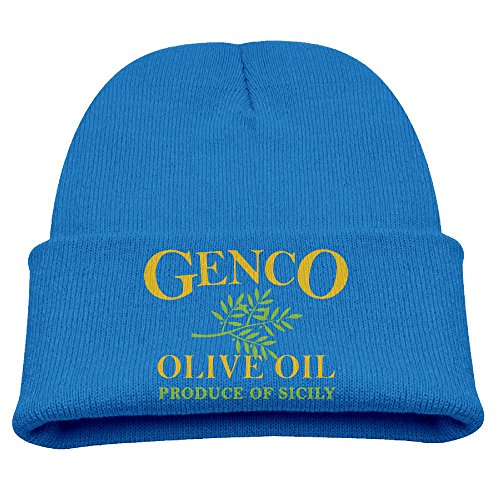 Knit Beanie Cap Hat Genco Olive Oil Importing Co Winter Warm Child
