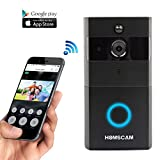 WiFi Wireless Video Doorbell with 8G Memory Storage and Two-Way Talk, Smart Door bell Security Cemera Wireless with PIR Motion Detection, Day and Night Mode Automatic Swithching (2)