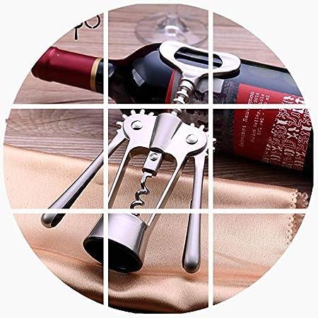 Sacacorchos de vino multifuncional aleación de zinc abridor de tapa de botella de cerveza herramientas de barra al por mayor disponible-sacacorchos