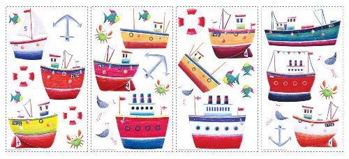 Wall Stickers Ship Shape (japan import)