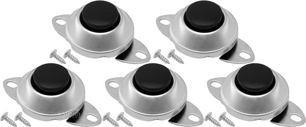 Vixen Horns Universal Horn Button Momentary/Push Switch 12V for Train/Air Horn (5 Pack) VXA7001-5