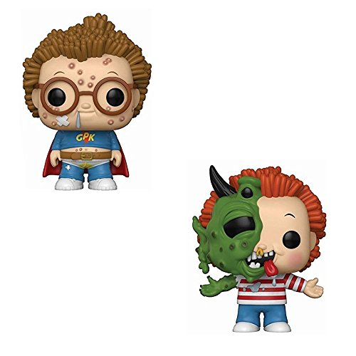 Funko POP! GPK Garbage Pail Kids: Clark Can't and Beasty Boyd Toy Action Figure - 2 POP BUNDLE ()