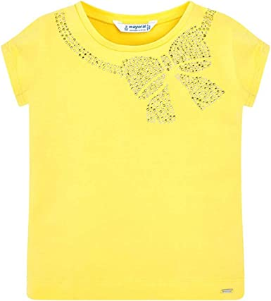 Mayoral Camiseta m/c Amarilla Básica 2-8 Años: Amazon.es: Ropa y accesorios