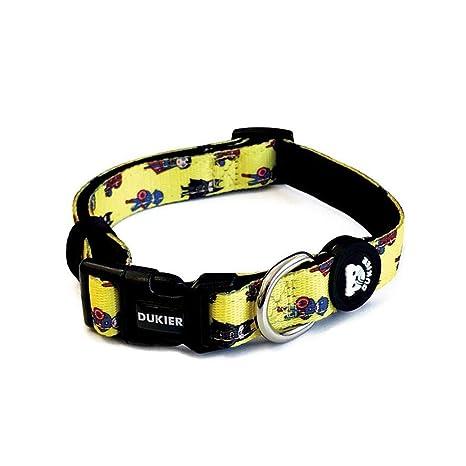 Dukier - Collar para Perro Ajustable y cómodo con Estampados ...