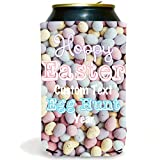 Custom Easter Can Cooler- Easter egg Hunt Hoppy Easter (250)
