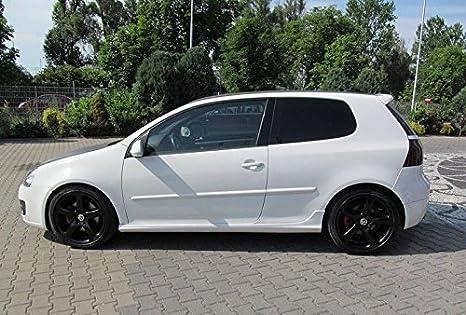 VW Volkswagen Golf 5 V GTI Faldones Laterales Alerón Spoiler: Amazon.es: Coche y moto