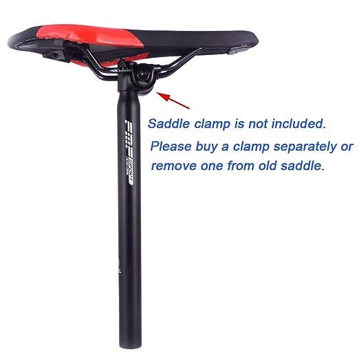 UPANBIKE - Tija de sillín de aleación de aluminio para bicicleta ...