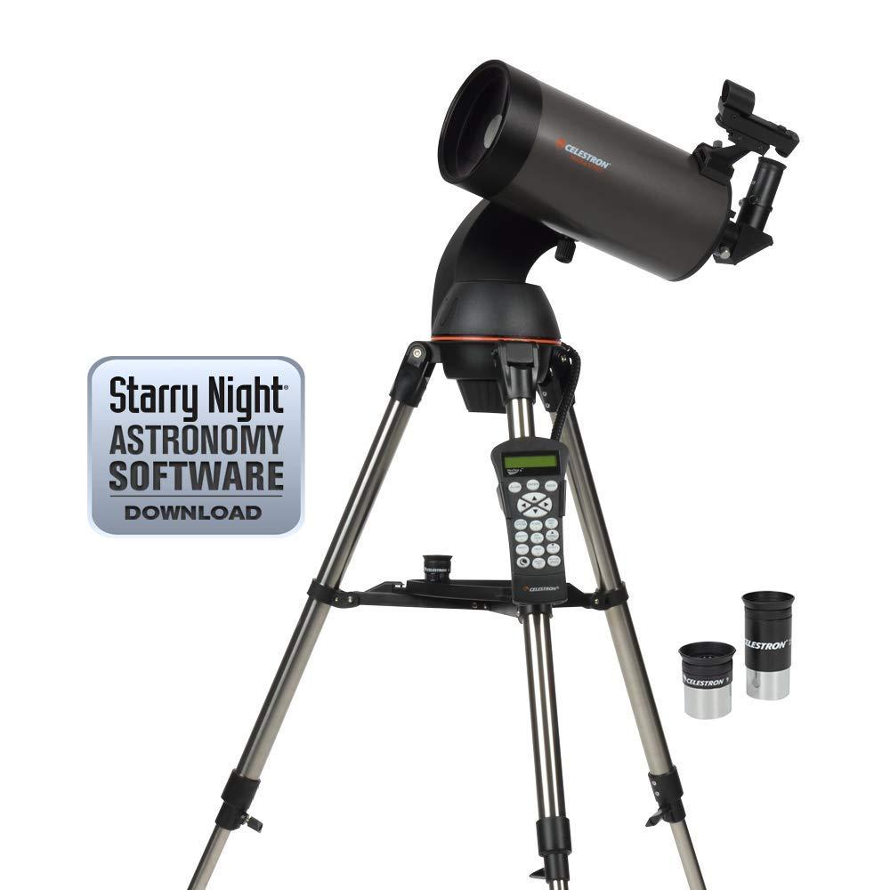 Celestron NexStar 127SLT Mak Computerized Telescope (Black) (Renewed) by Celestron
