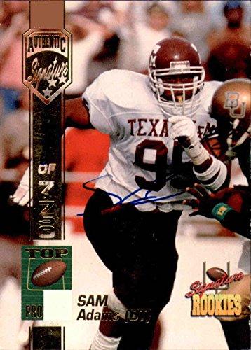 1994 Signature Rookies Autographs #1 Sam Adams Auto/7750 Card