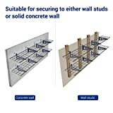 FLEXIMOUNTS 2-Pack Wall Shelf Garage Storage Rack