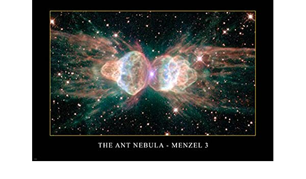 THE ANT NEBULA Menzel 3 Hubble Space Telescope image POSTER 24x36 AMAZING
